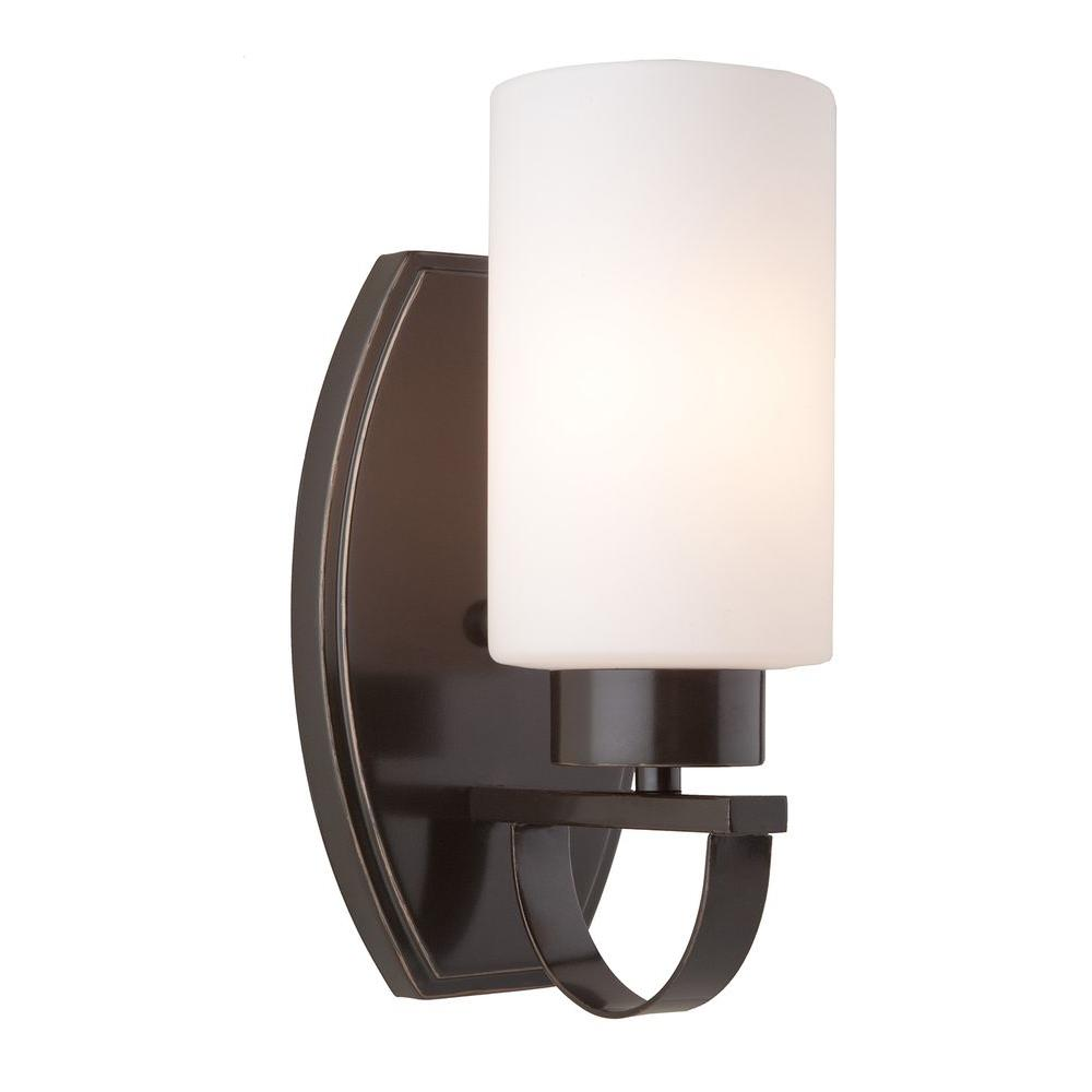 Obu 1-Light Oil-Rubbed Bronze Sconce