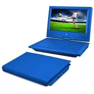 9 in. Portable DVD Player with Heaphones and Carrying Case