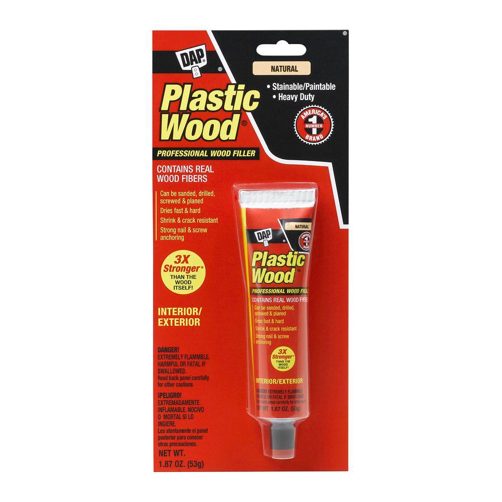 DAP Plastic Wood 1.87 oz. Natural Solvent Wood Filler