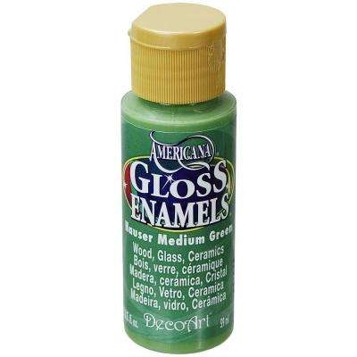 2 oz. Hauser Medium Green Gloss Enamel Paint