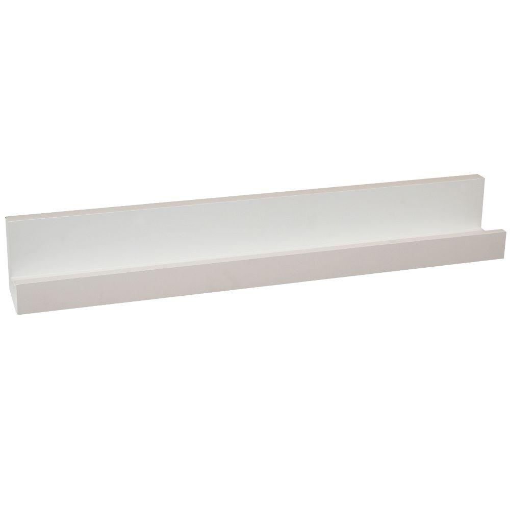 Home Decorators Collection 36 in. Photo Ledge-HDCVL36W - The Home Depot