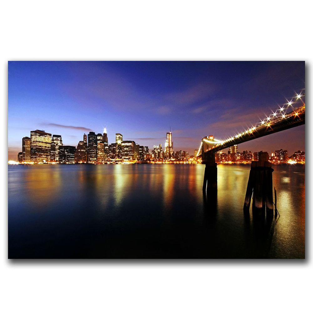 Trademark Fine Art 32 in. x 22 in. That's the Way Canvas Art