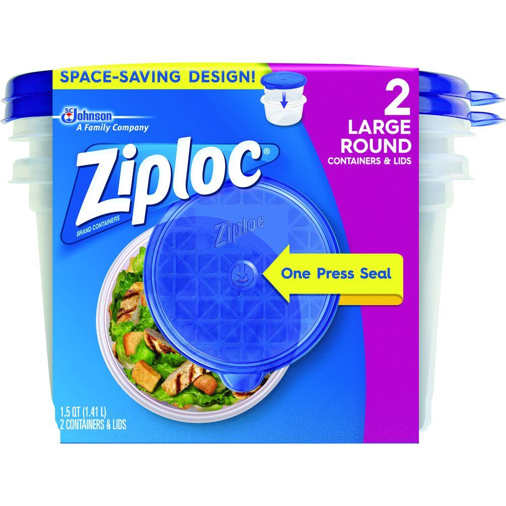 Ziploc 15 Qt Large Rectangle Storage Container 71013 The Home Depot