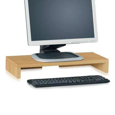 zBoard Eco Computer Monitor Stand in Natural