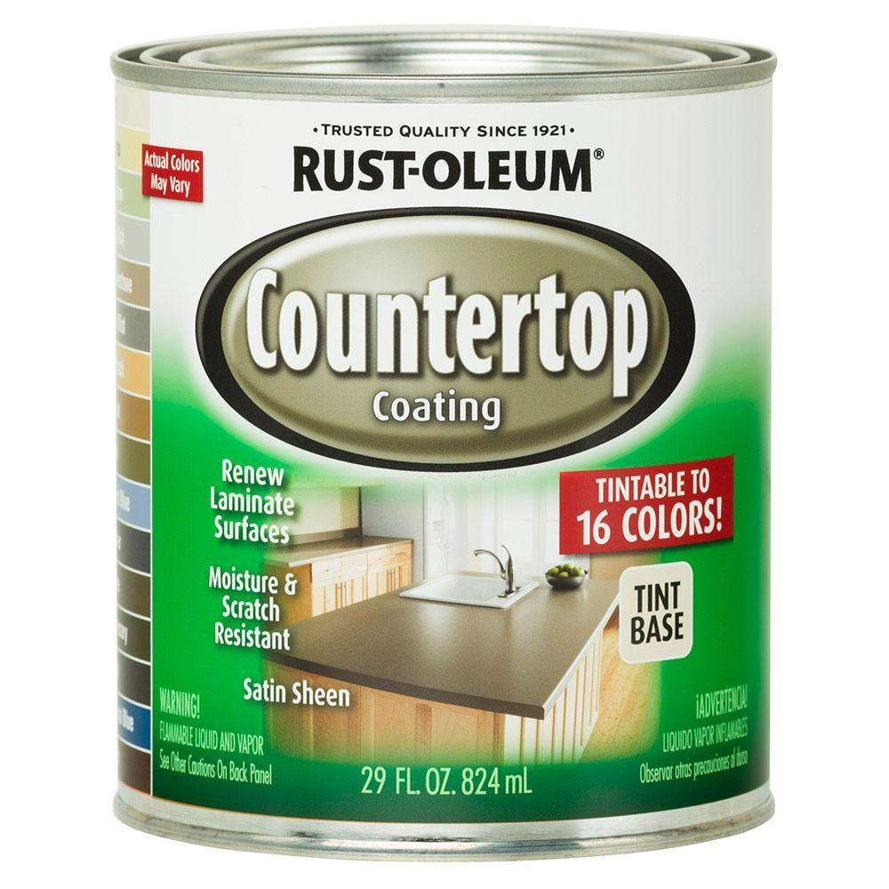 Rust-Oleum Specialty 1 qt. Countertop Tintbase Kit-246068 - The Home ...
