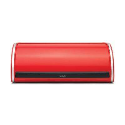 Brabantia Roll Top Bread Box, Passion Red