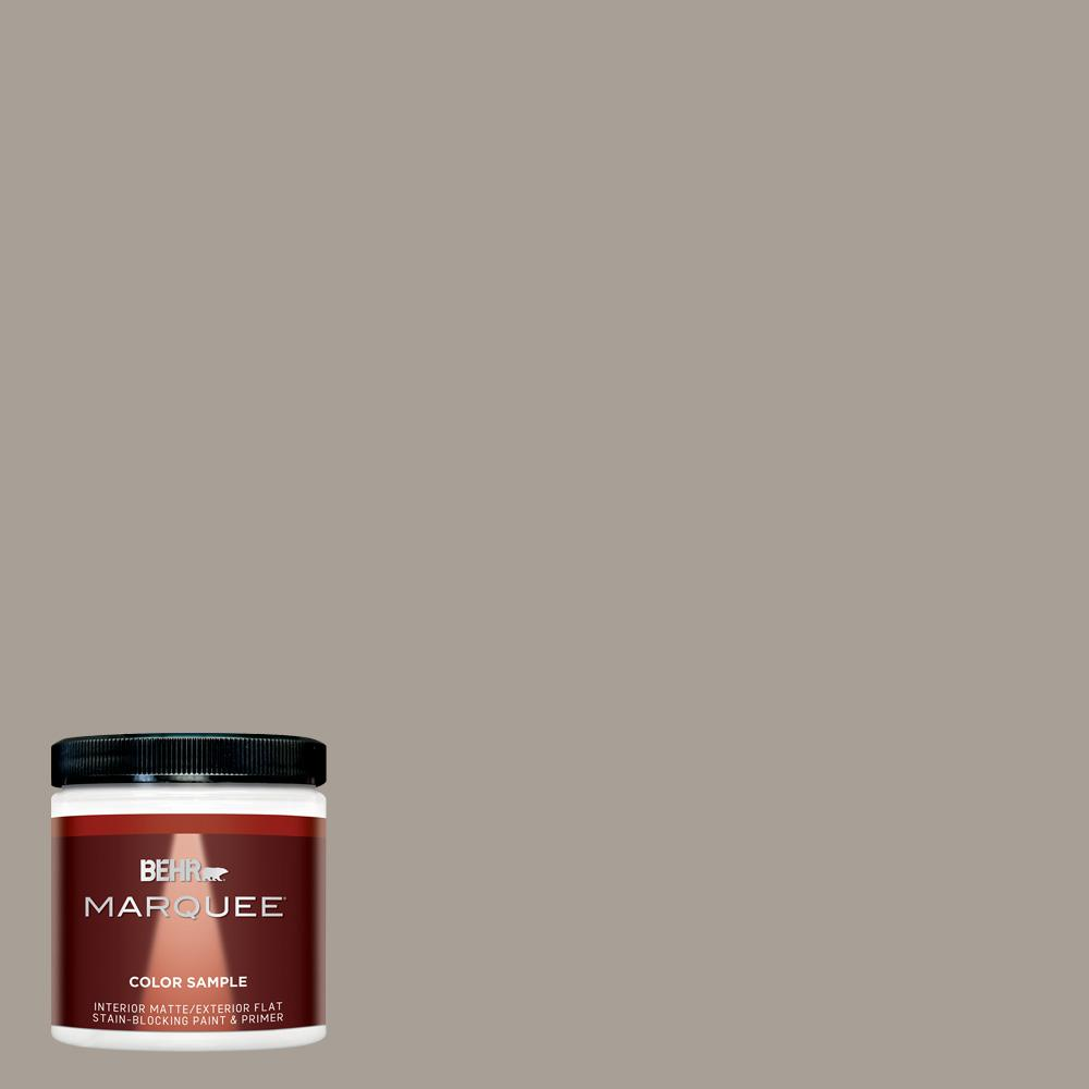 Behr marquee 8 oz ppu24 09 true taupewood interior - Exterior matt paint collection ...