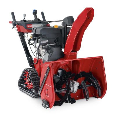 Power TRX 32 in. Two-Stage Electric Start Gas Snow Blower 1432 OHXE with Steel Chute, Power Steering and Heated Grips