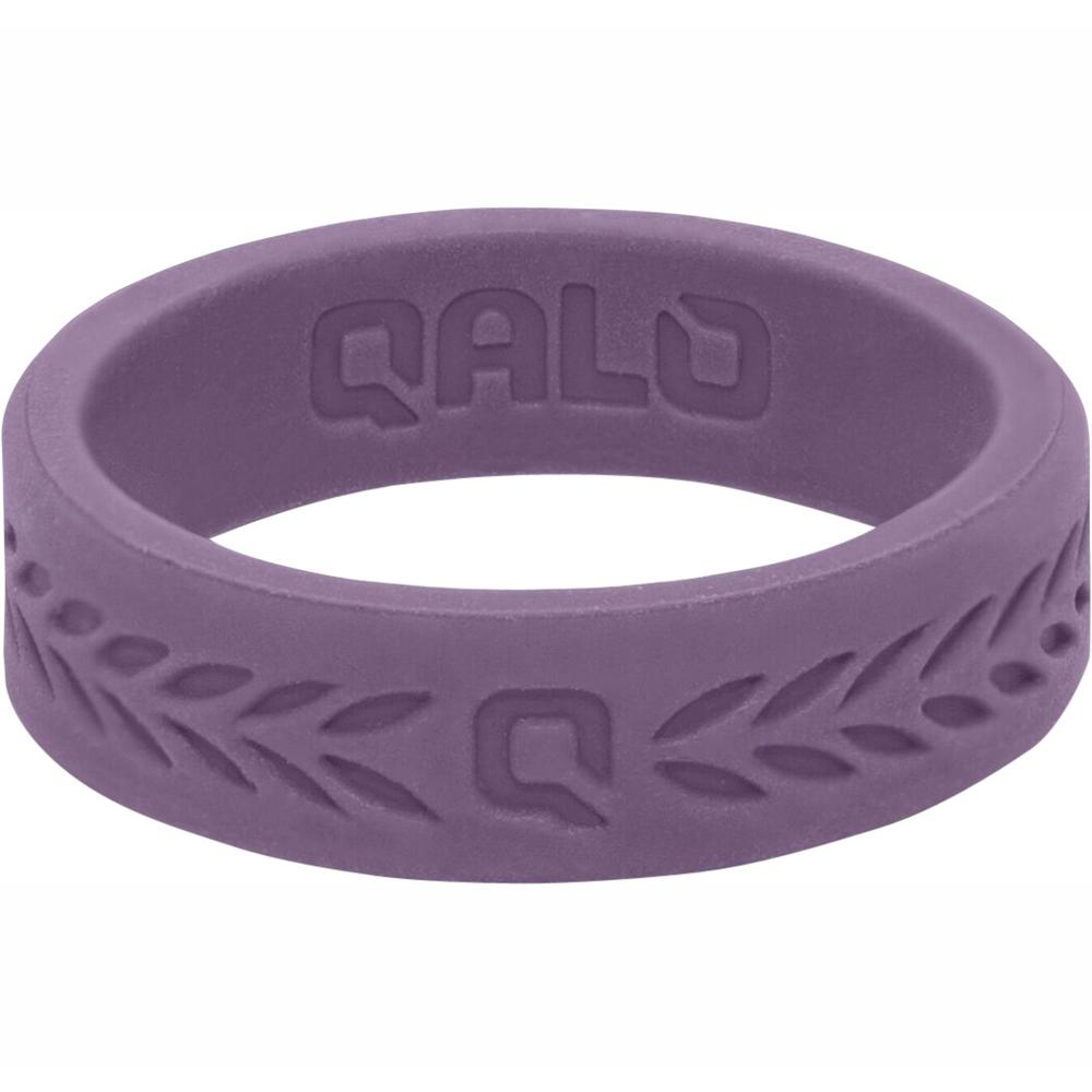 Silicone Wedding Ring.Qalo Women S Lilac Laurel Q2x Silicone Wedding Ring