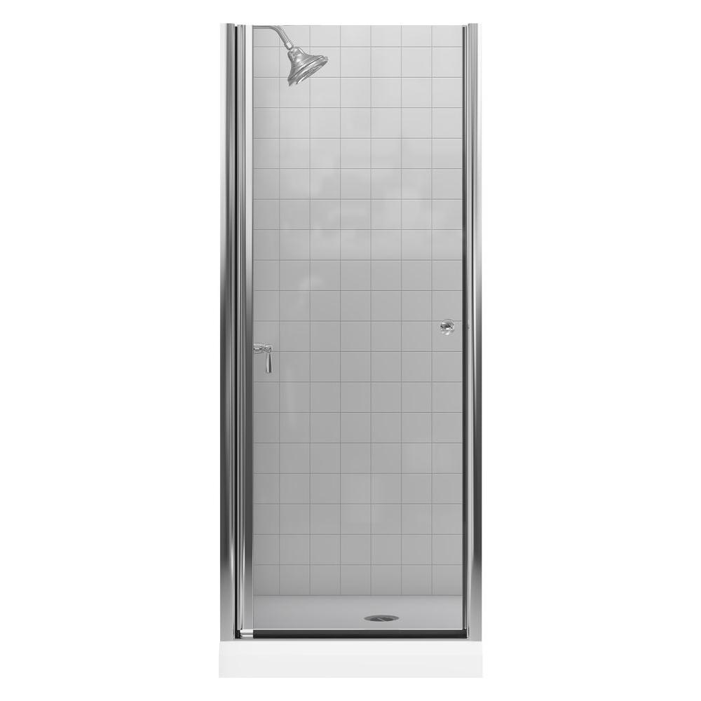 Kohler Fluence 30 14 In X 65 12 In Semi Frameless Pivot Shower