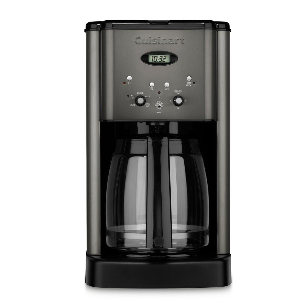Black Stainless Brew Central 12 Cup Programmable Coffeemaker