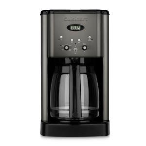 Cuisinart Black Stainless Coffee Center 12 Cup Coffeemaker And