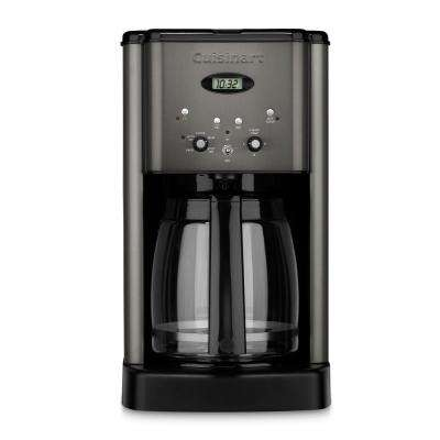 Black Stainless Brew Central 12-Cup Programmable Coffeemaker