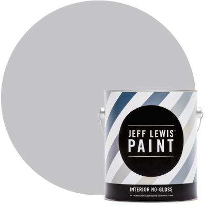 1 gal. #711 Silver Fox No Gloss Interior Paint