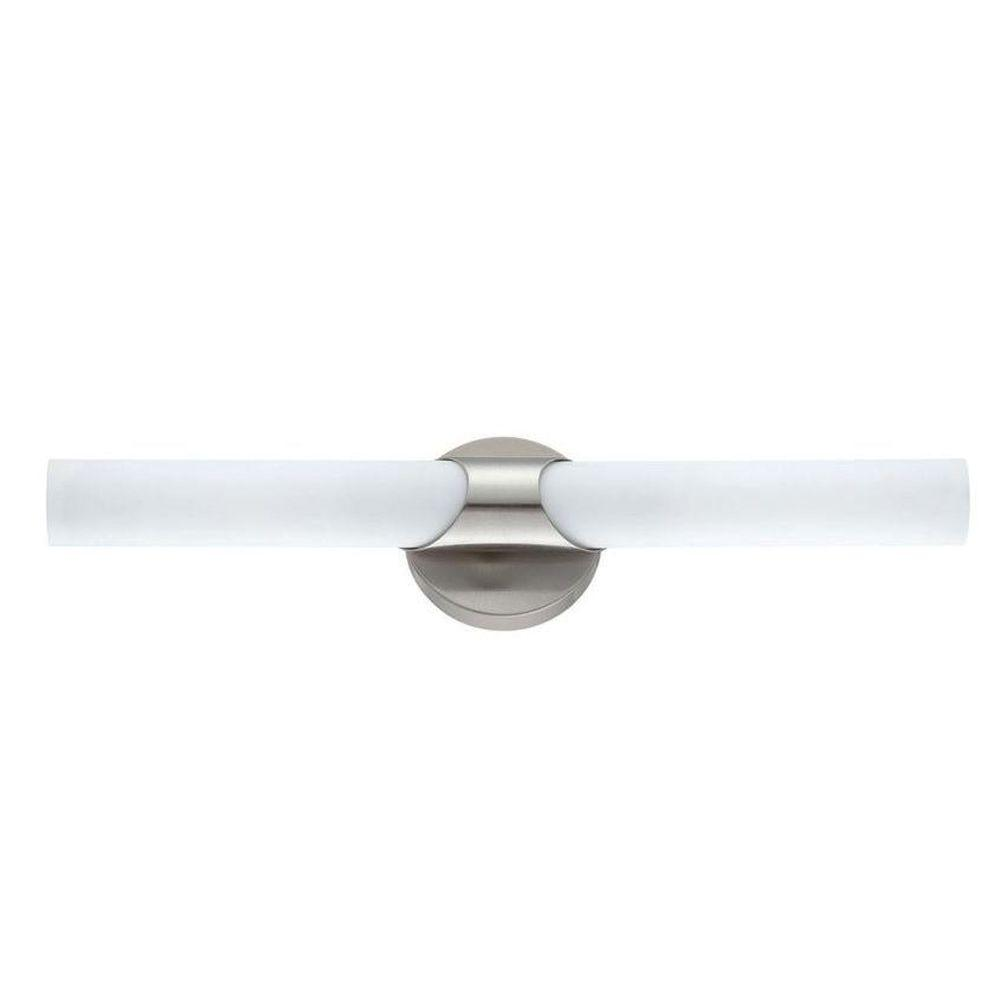 Aurora Lighting Cassiopeia 1-Light Ceiling Nickel Incandescent Wall Vanity