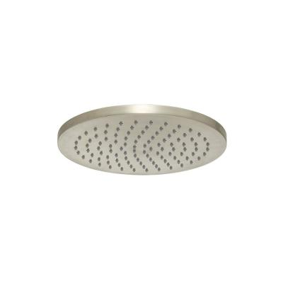 1-Spray 8 in. Single Ceiling MountHigh Pressure Fixed Rain Shower Head in Brushed Nickel