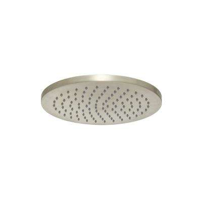 Neo 1-Spray 8 in. Rain Fixed Showerhead with 100 Sprays in Brushed Nickel