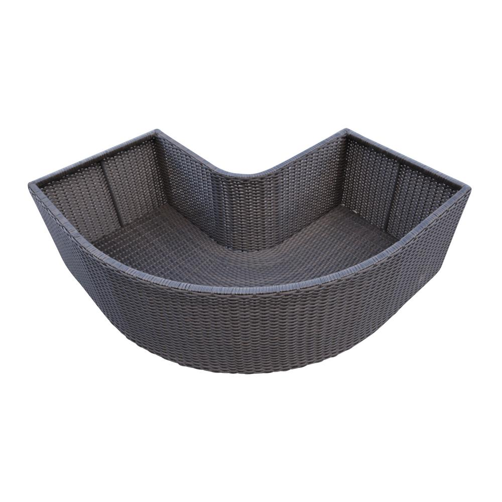 Corner Planter - Square Spa Surround Furniture