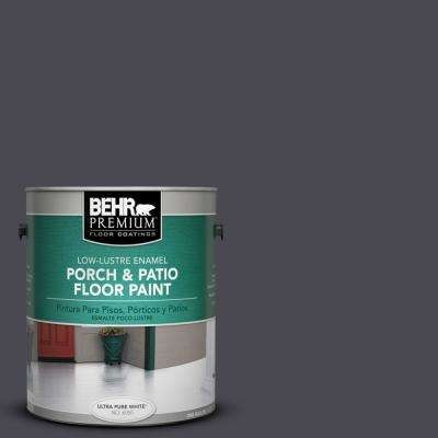 1 gal. #N560-7 Limo Scene Low-Lustre Porch and Patio Floor Paint