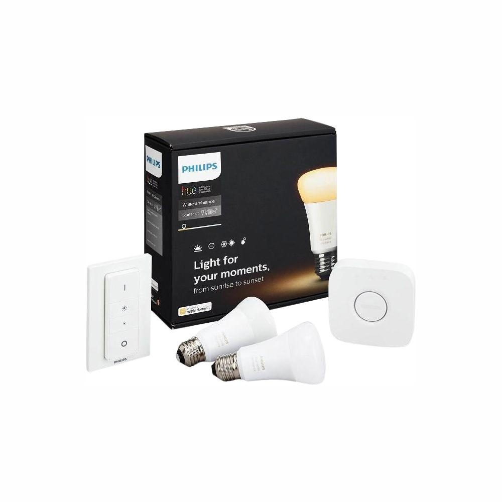 Philips Hue White Ambiance A19 Led 60w Equivalent Dimmable