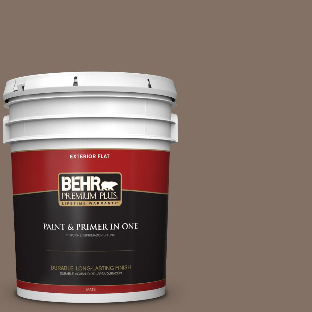 5 gal. #PPU5-17 Cardamom Spice Flat Exterior Paint