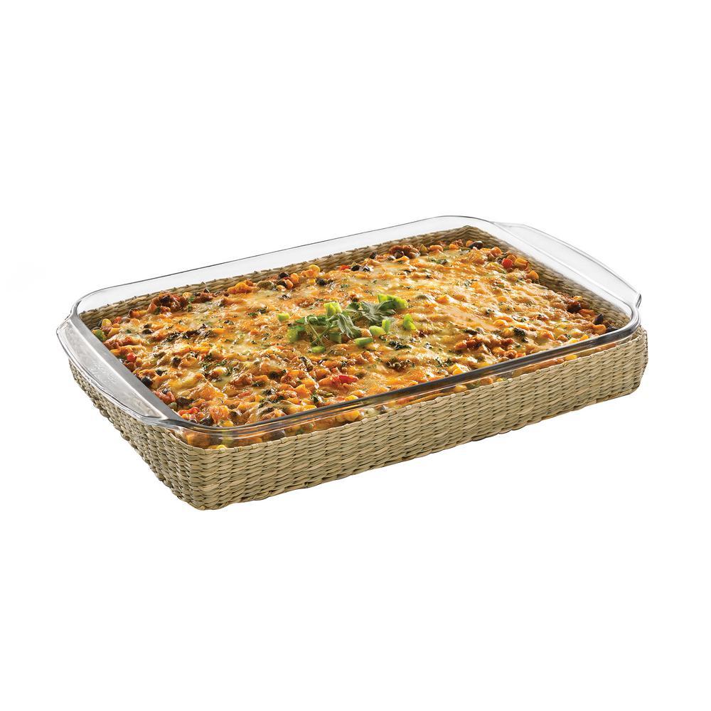 Libbey Baker's Basics 2-Piece Glass Bake Dish Set 56980