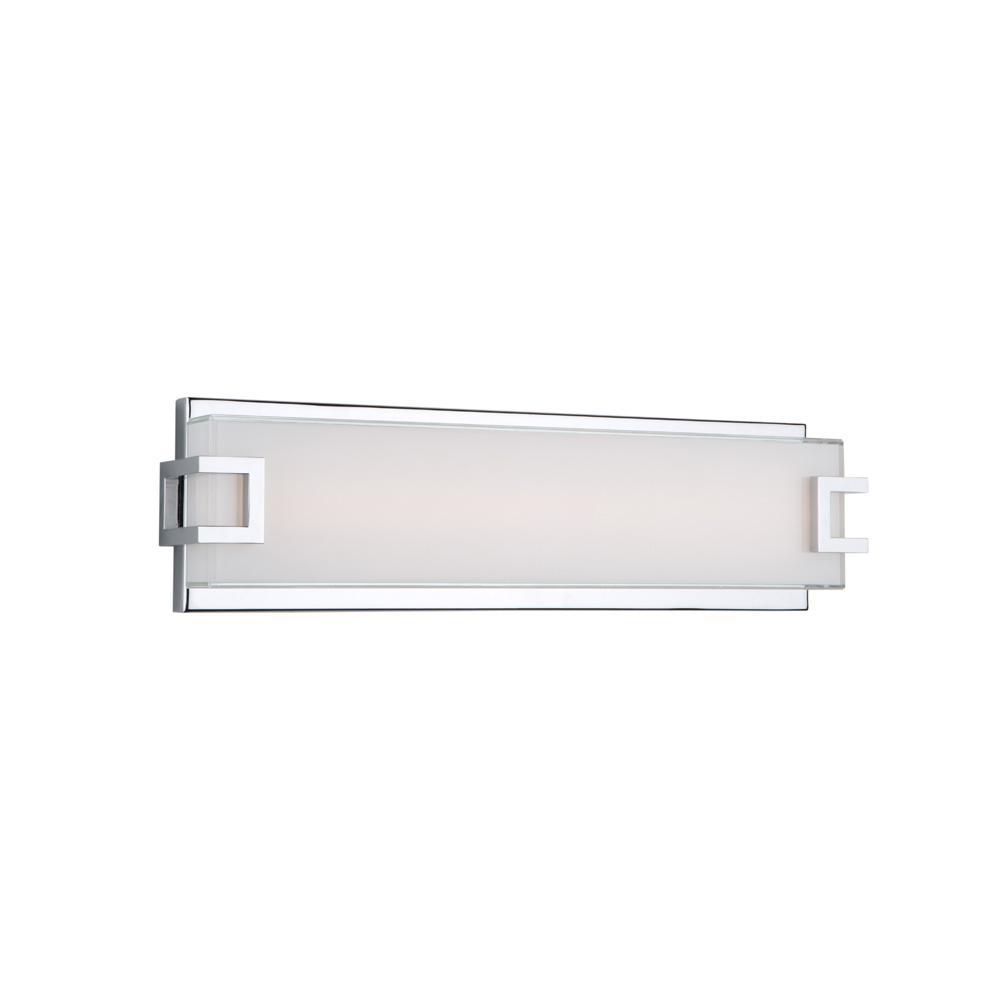 Filament Design 1 Light Chrome Bath Light Cli Acg007115 The Home Depot