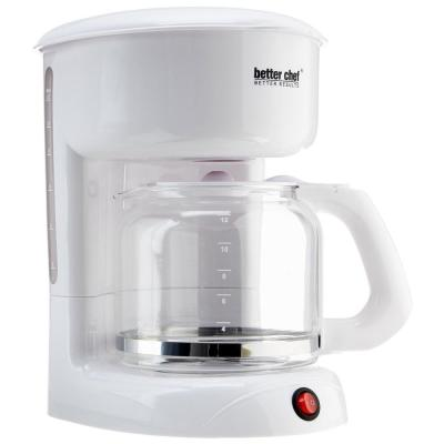 12-Cup White Coffeemaker