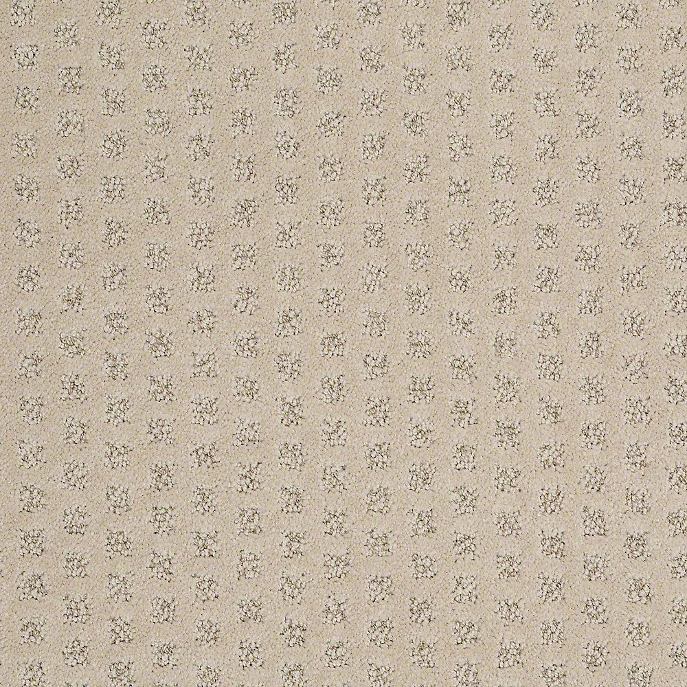 Platinum Plus Carpet Sample Crown In Color Bobcat Pattern 8 X