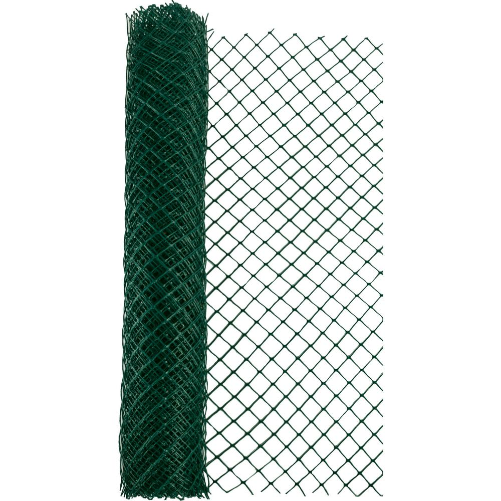 Mutual Industries 4 Ft X 50 Ft Green Heavy Duty Diamond