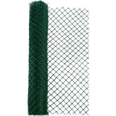 4 ft. x 50 ft. Green Heavy Duty Diamond Link Fence