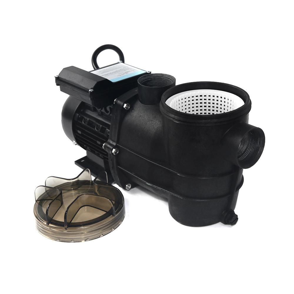 XtremepowerUS 3/4 2400 GPH Self Primming Above Ground Swimming Pool Pump  with Strainer 1.5 in. NPT