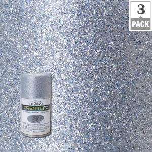 Testors Createfx 2 5 Oz Silver Glitter Spray Paint 3