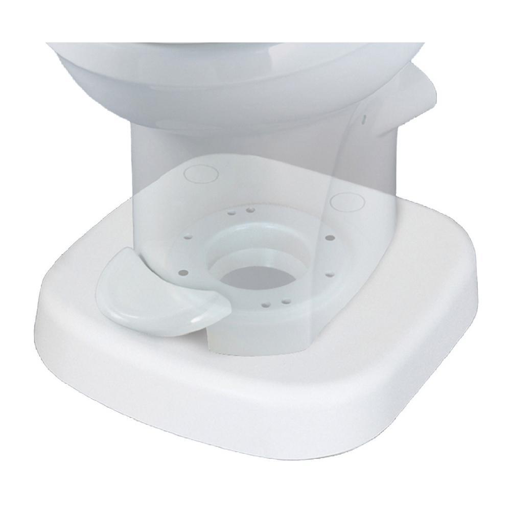 Toilet Riser for Portable Toilet - White