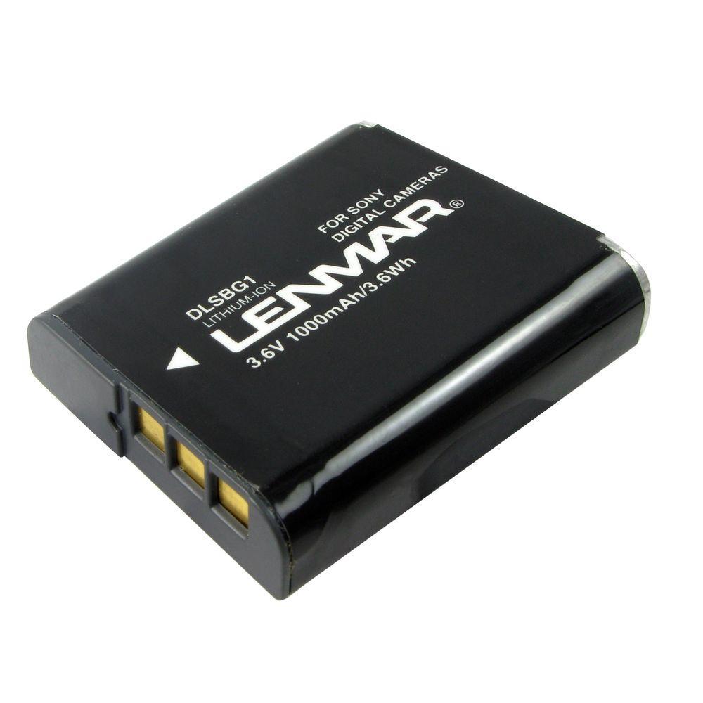 Lithium-Ion 1000mAh/3.6-Volt Digital Camera Replacement Battery