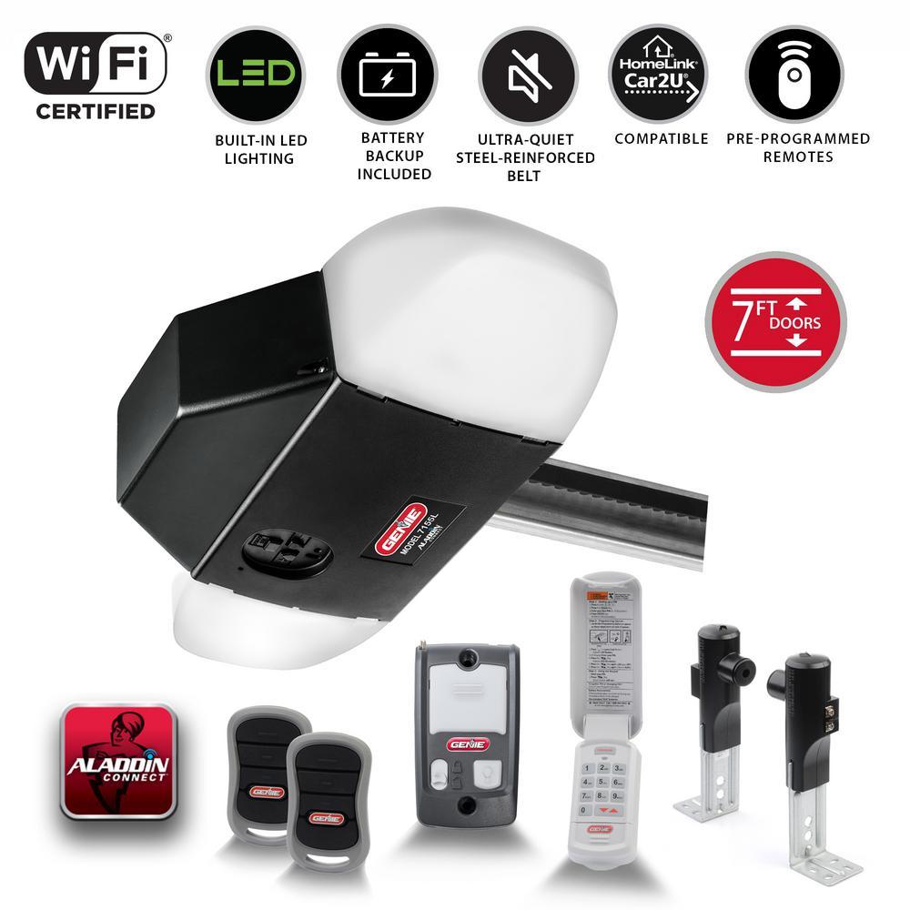 Genie Silentmax Led Connect Ultra Quiet Belt Drive Smart