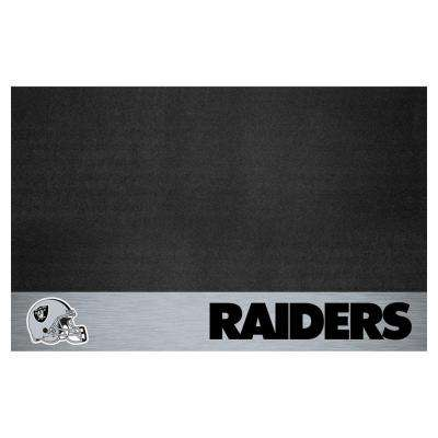 Oakland Raiders 26 in. x 42 in. Grill Mat
