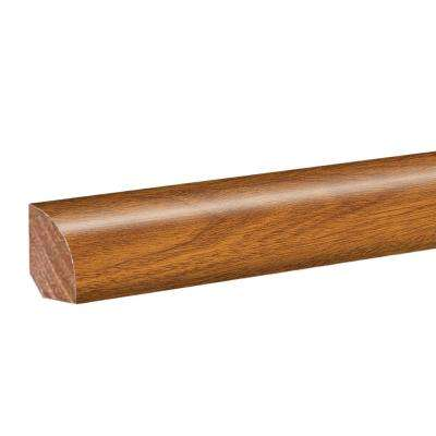 Peruvian Mahogany 0.62 in. Thick x 0.75 in. Wide x 94.5 in. Length Laminate Quarter Round Molding