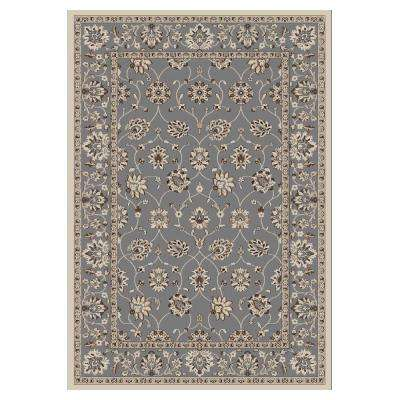 Chesterfield Slate 5 ft. 3 in. x 7 ft. 7 in. Area Rug