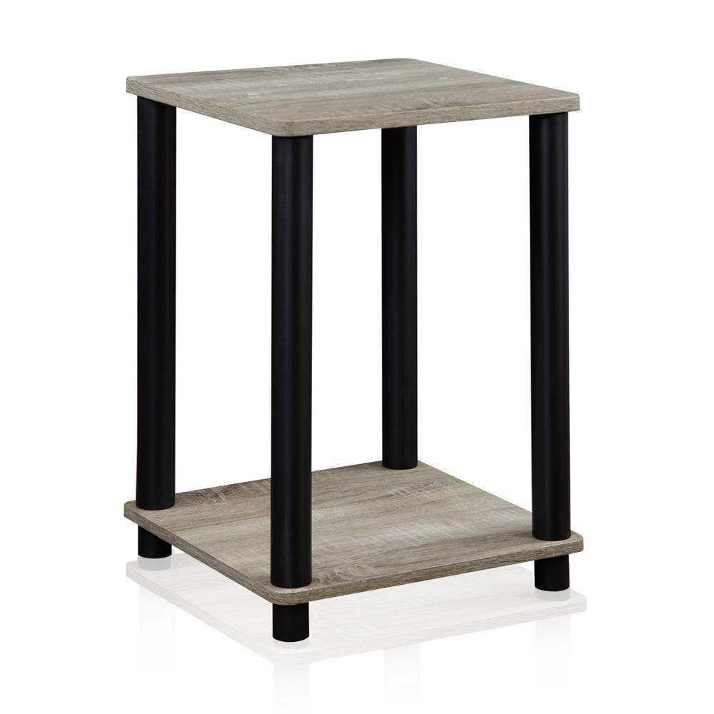 Turn N Tube Simple French Oak Grey End Table