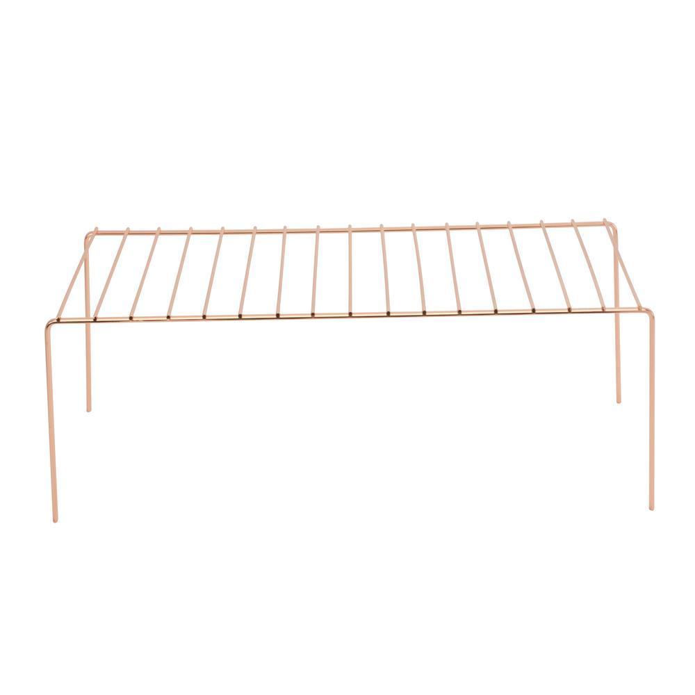 Copper Large Helper Shelf, Bronze/Copper Metallic
