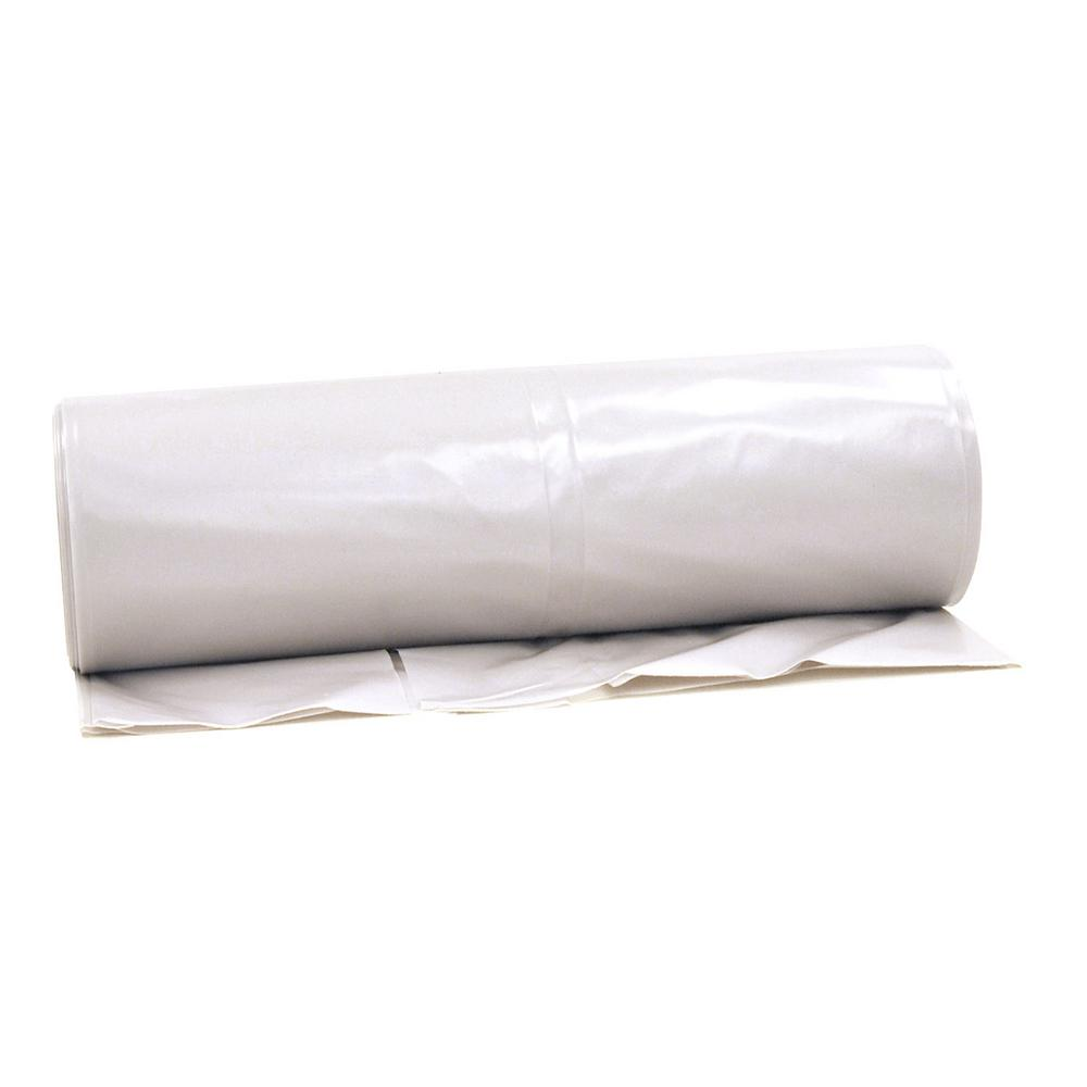 20 ft. x 100 ft. Clear 6 mil Plastic Sheeting (21-Rolls/Pallet)