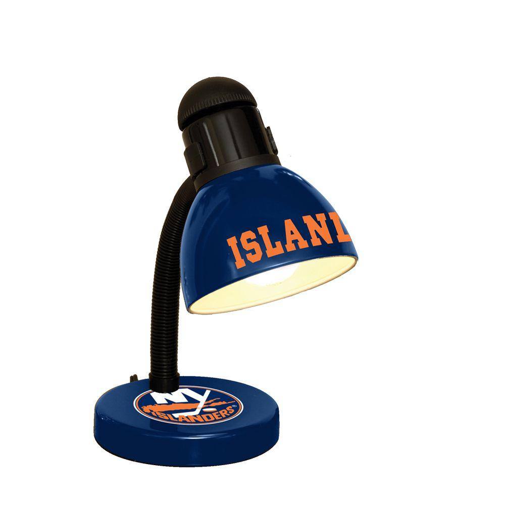 The Memory Company 14.7 in. NHL Desk Lamp - New York Islanders-DISCONTINUED