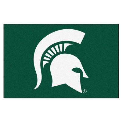 Michigan State University 19 in. x 30 in. Accent Rug