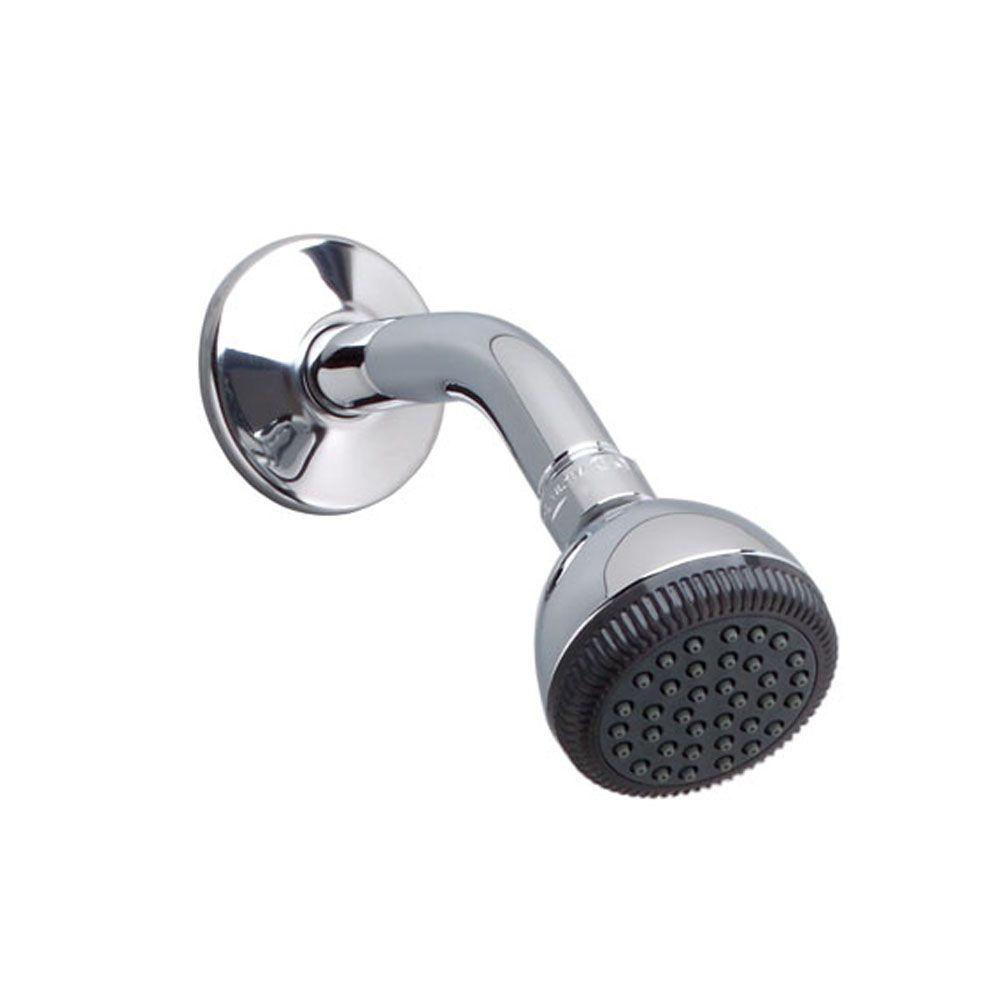 1-Spray 3 in. Easy-Clean Showerhead in Polished Chrome