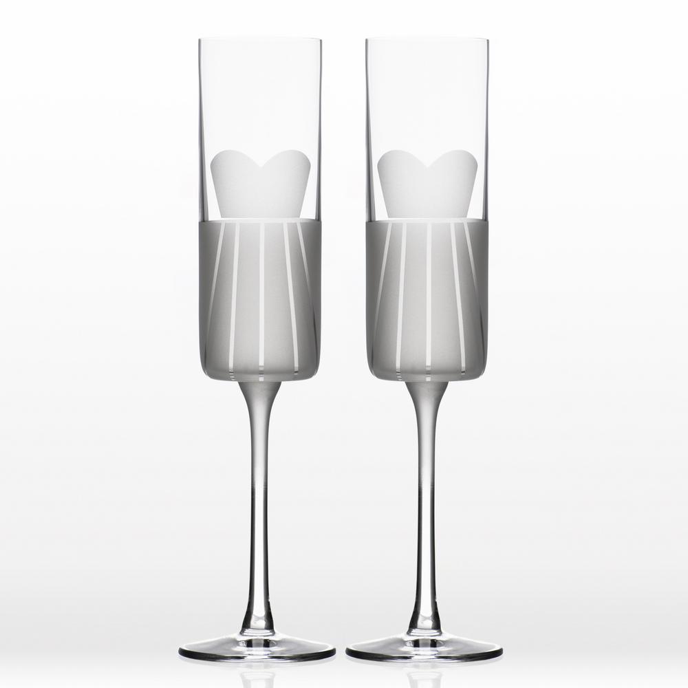 Wedding Cheers Formal (Dress/Dress) 5.75 oz. Flute (Set of 2)