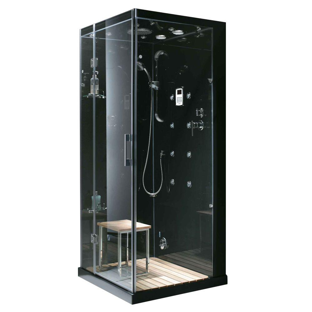 Steam Planet Jupiter 35 In X 35 In X 86 In Steam Shower