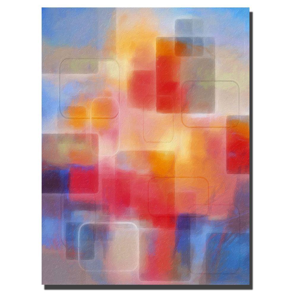 Trademark Fine Art 18 in. x 24 in. Lighshapes Canvas Art