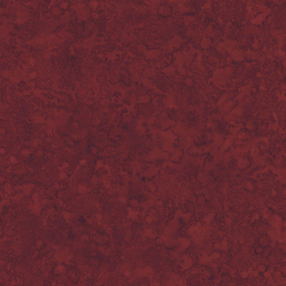 The Wallpaper Company 56 sq. ft. Red Faux Finish Wallpaper-DISCONTINUED