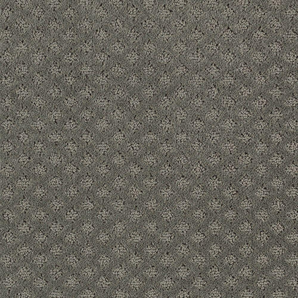 LifeProof Lilypad - Color Urban Grey Pattern 12 ft. Carpet